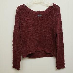 Like New! Maroon Knit Sweater